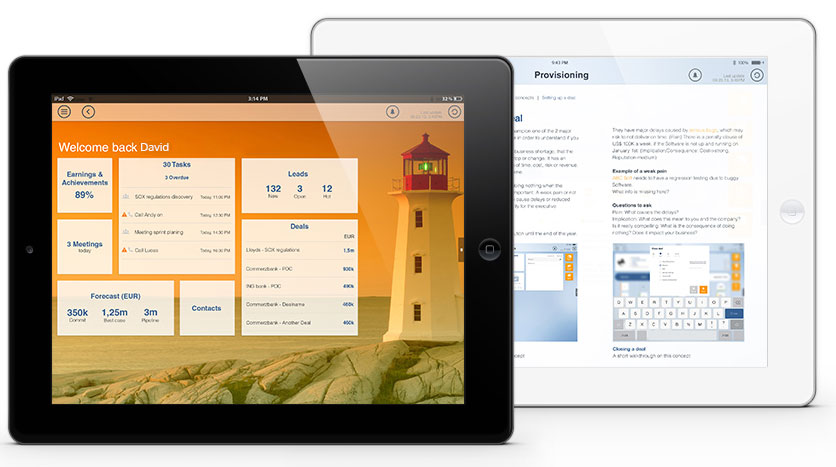 mobile sales app for ipad
