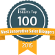 Top 100 Most Innovative Sales Bloggers Badge