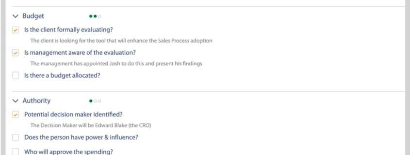 Lead Qualification on Salesforce
